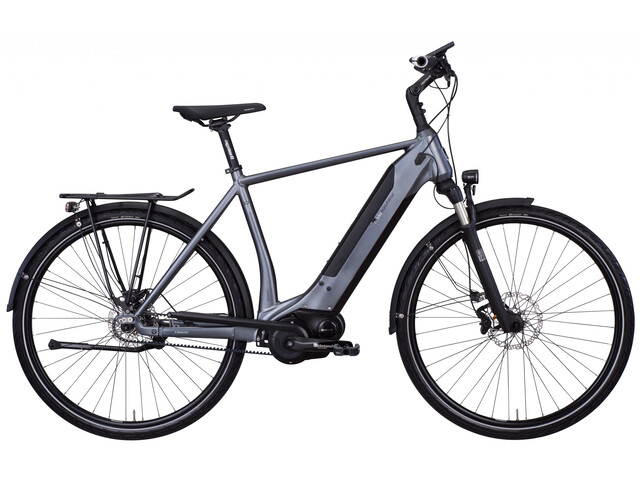 e-bike manufaktur 8CHT Diamant 48er Revolution Disc Gates, dark silver matte